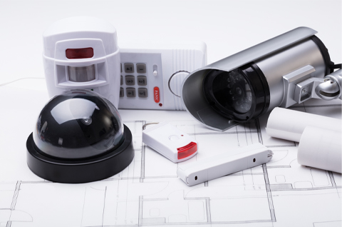 variety of security devices